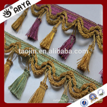 Stock Fancy Tassel Trim Fringe for Curtain Accessory